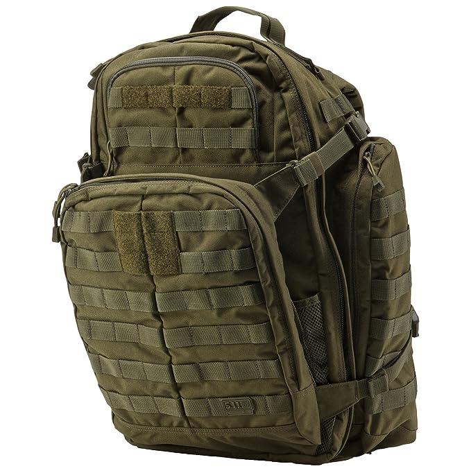 98c669ae231 5.11 Tactical Rush 72 Backpack 58602 - Mochila Rush, Adulto, Verde (TAC OD  Green - 188), Talla única: Amazon.es: Deportes y aire libre