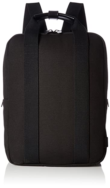 Ecco Herren Kasan Medium Backpack Rucksack, Schwarz (Black