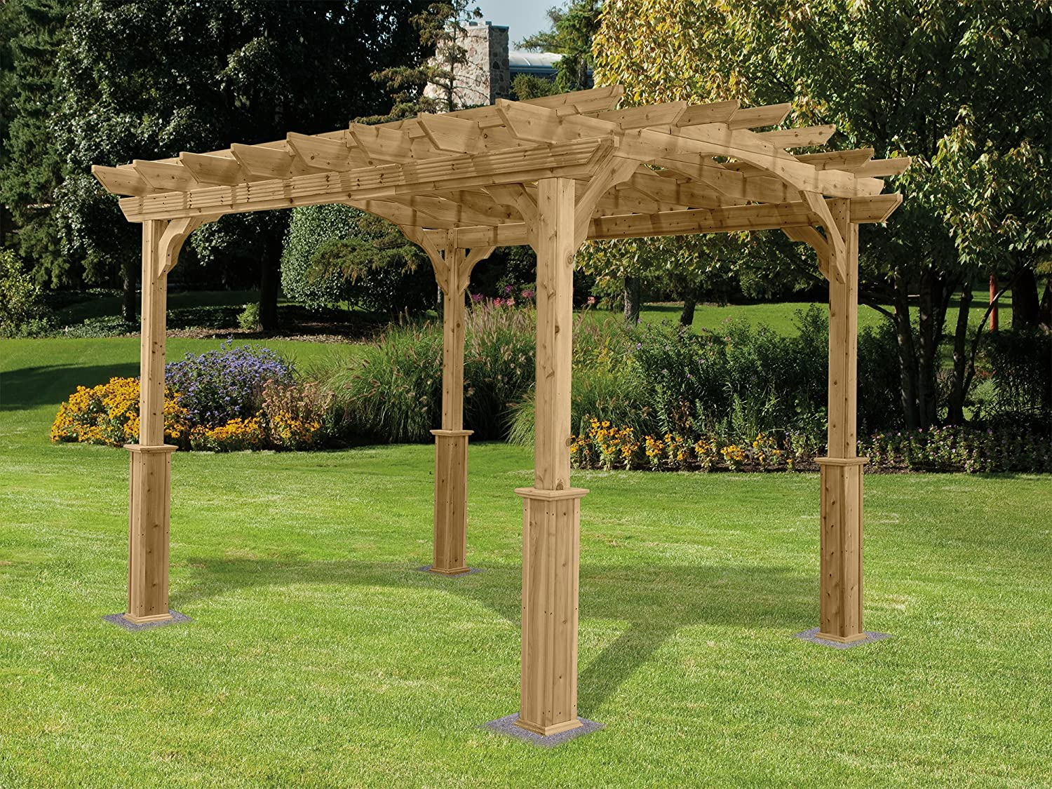 What Are Pergolas Made Of?