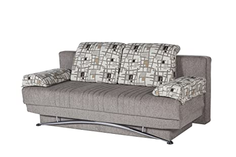 ISTIKBAL Multifunctional FANTASY Collection (Futon Sofa/Queen Size Sleeper) ARISTO L. BROWN