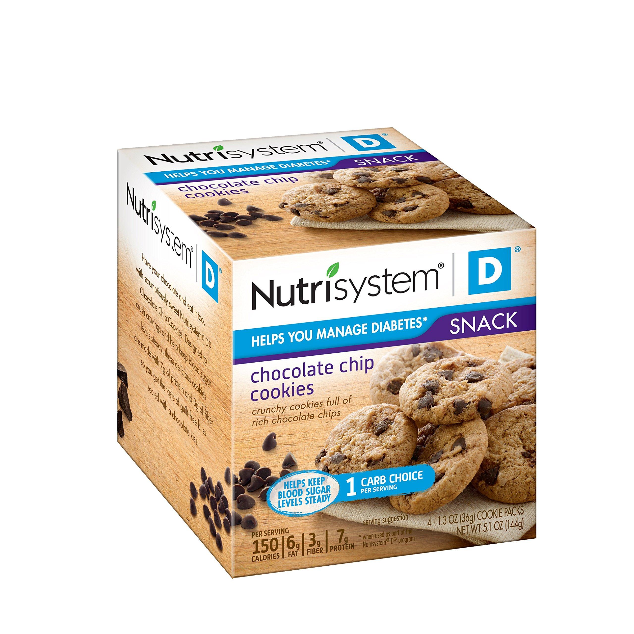 Nutrisystem® D® Chocolate Chip Cookies, 24 pack