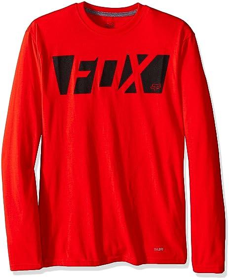 a6fd1825c863 Fox Racing Cease Tech Jersey - Long-Sleeve - Men s Flame Red