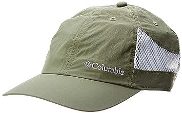 Columbia Gorra unisex, Tech Shade Hat, Nailon, Verde (Cypress), Talla: O/S, 1539331: Amazon.es: Deportes y aire libre