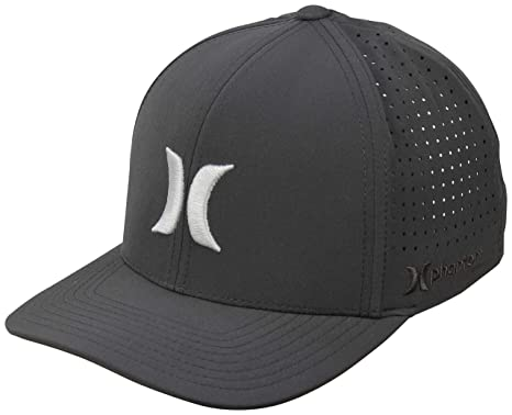 Amazon.com  Hurley Phantom Vapor 2.0 Hat - Pure Platinum - S M  Clothing 33683e4b496