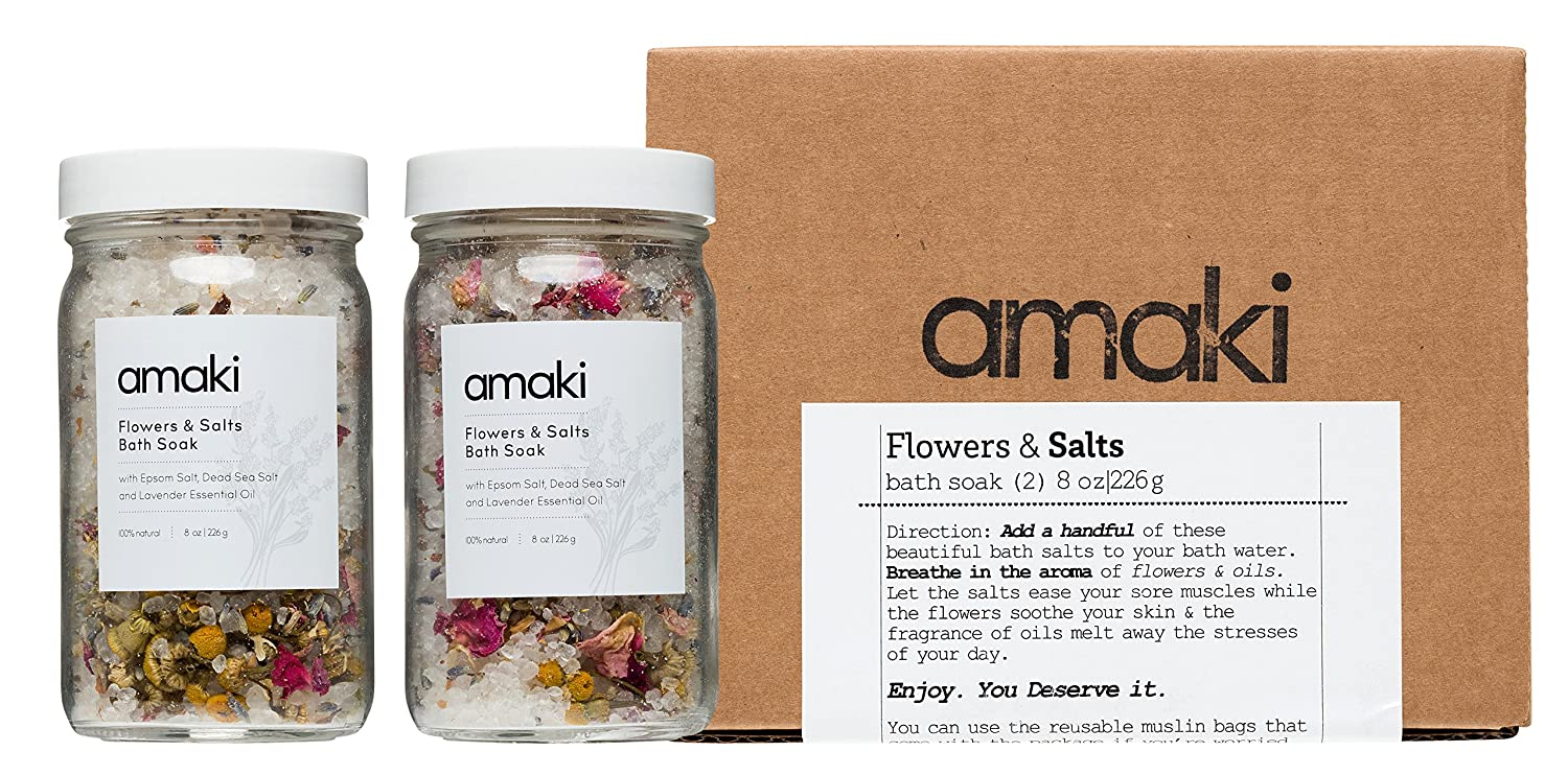 Image result for Amaki |, Flowers and Salts Bath Soak: