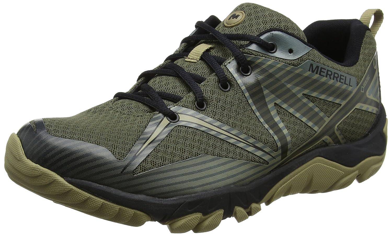 Merrell Mqm Edge Gore-Tex, Zapatillas de Senderismo Para Hombre 45.5 EU Verde (Dusty Olive)