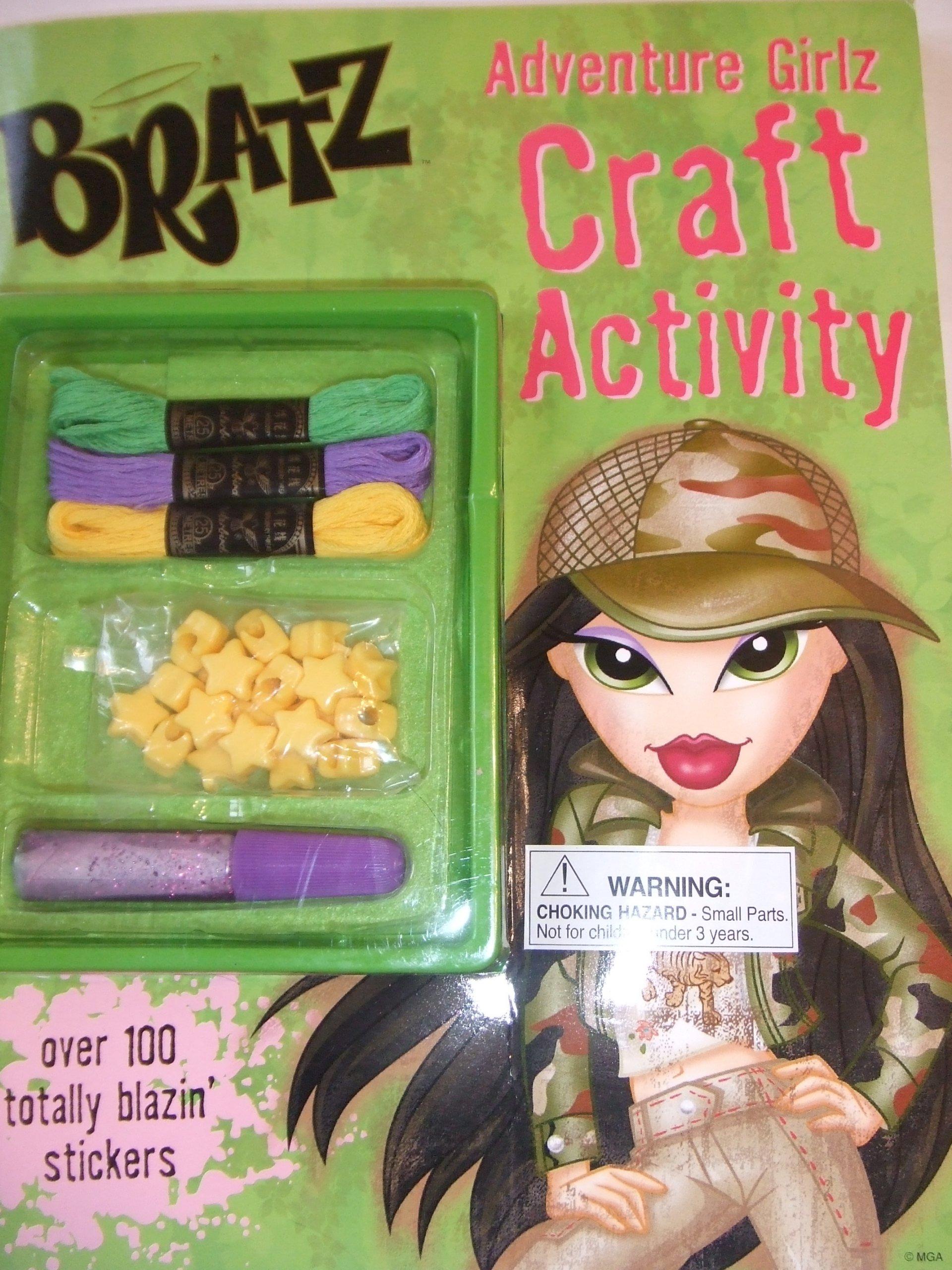 Download Adventure Girlz: Craft Activity (Bratz Activity Books) pdf epub