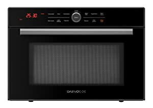Daewoo KOC-1C2KDS Multi Function Convection Microwave Oven 1.2 Cu. Ft., 800W | Black