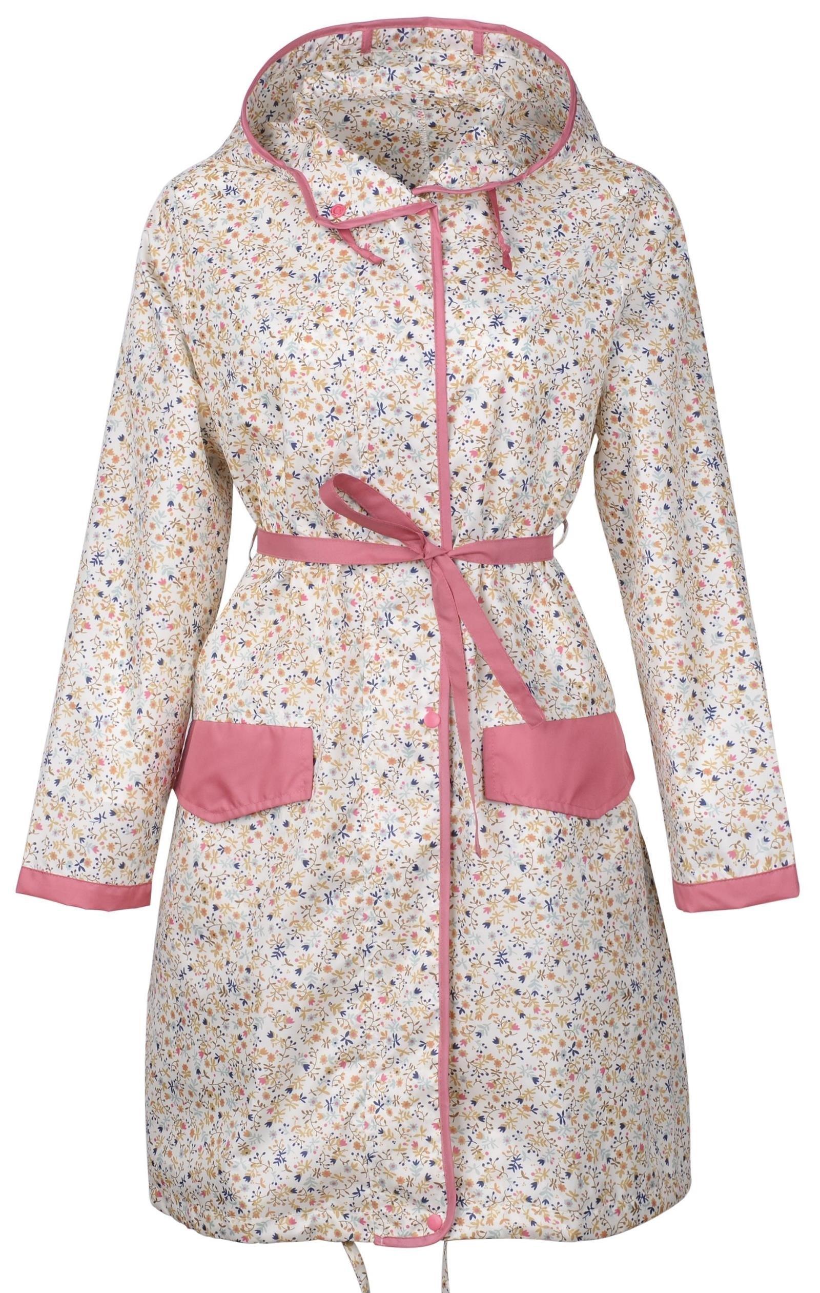 Freesmily Women Fashion Japanese Korean Style Cute Windbreaker Waterproof Raincoat Rain Poncho