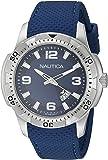 Nautica Montre Homme Analogique Quartz avec Bracelet en Silicone – NAI12522G