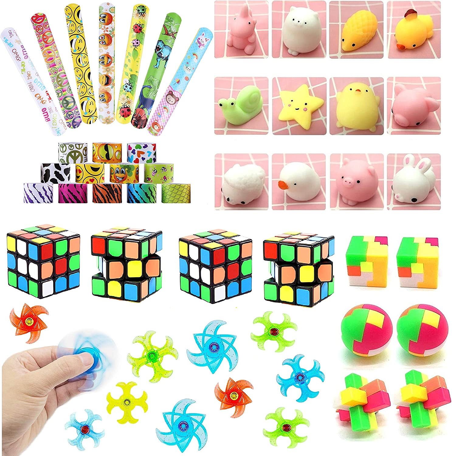 Party Favors for kids,Party Favors Assortment,Birthday Party,Carnival Prizes,Party Prizes,Goody Bag Fillers,Treasure Box Prizes For Classroom Rewards,Party Toys
