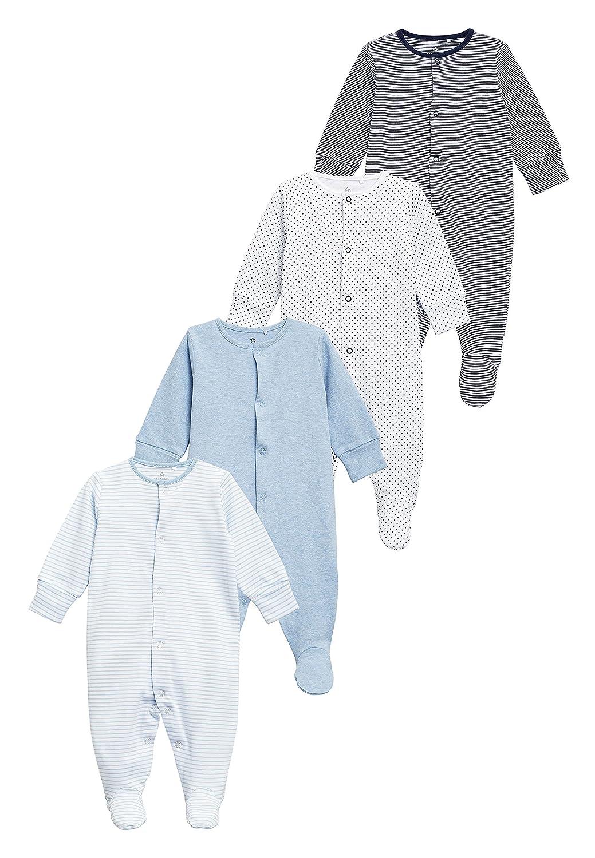 next Baby Jungen Schlafanzüge 4Er Pack (0 Monate Bis 2Jahre)