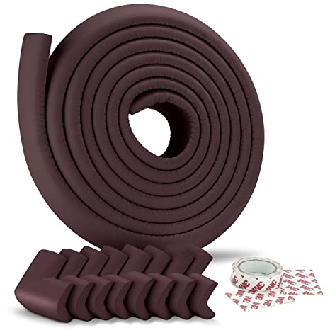 4PCS Baby Proofing Safety Table Corner Rubber Child Protector Protection Cushion