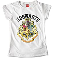 Blusa Dama Niña HARRY POTTER Hogwarts Escudo Camiseta Playeras Personalizadas #674