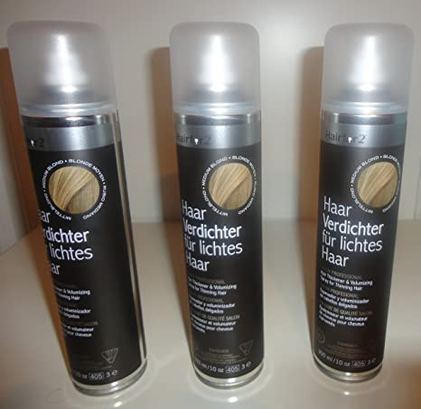 3 x hairfor2 pelo crecepelo Spray 300 Ml