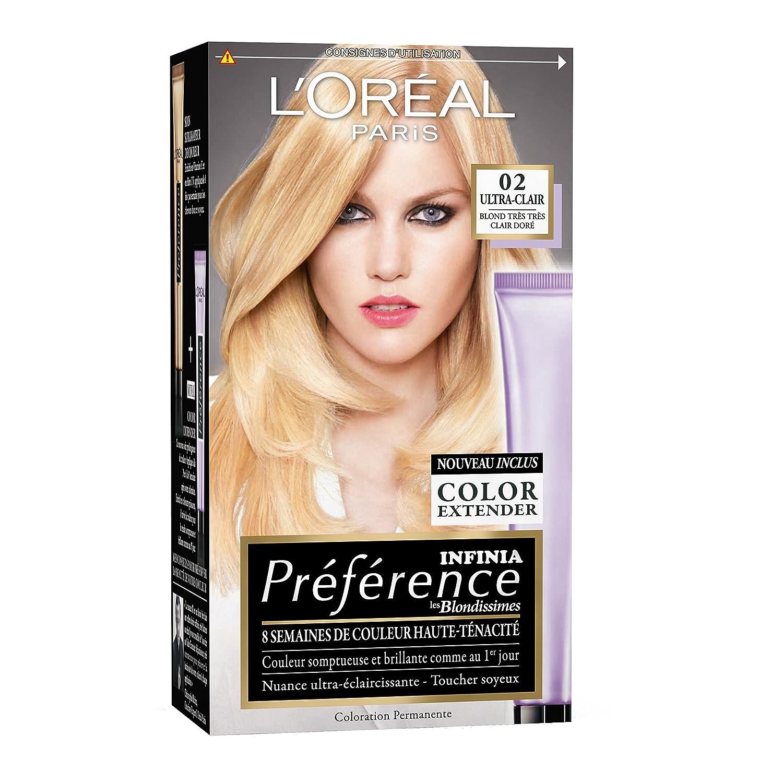 loral paris prfrence coloration permanente 02 blond trs - Schwarzkopf Coloration Semi Permanente