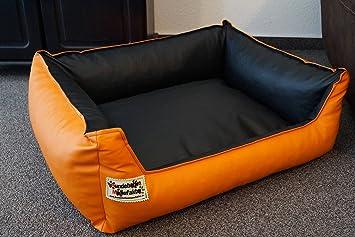 Cama para perros Perros sofá Dormir Espacio piel sintética similpelle Color y Tamaño a Elegir de XS a XXL: Amazon.es: Productos para mascotas