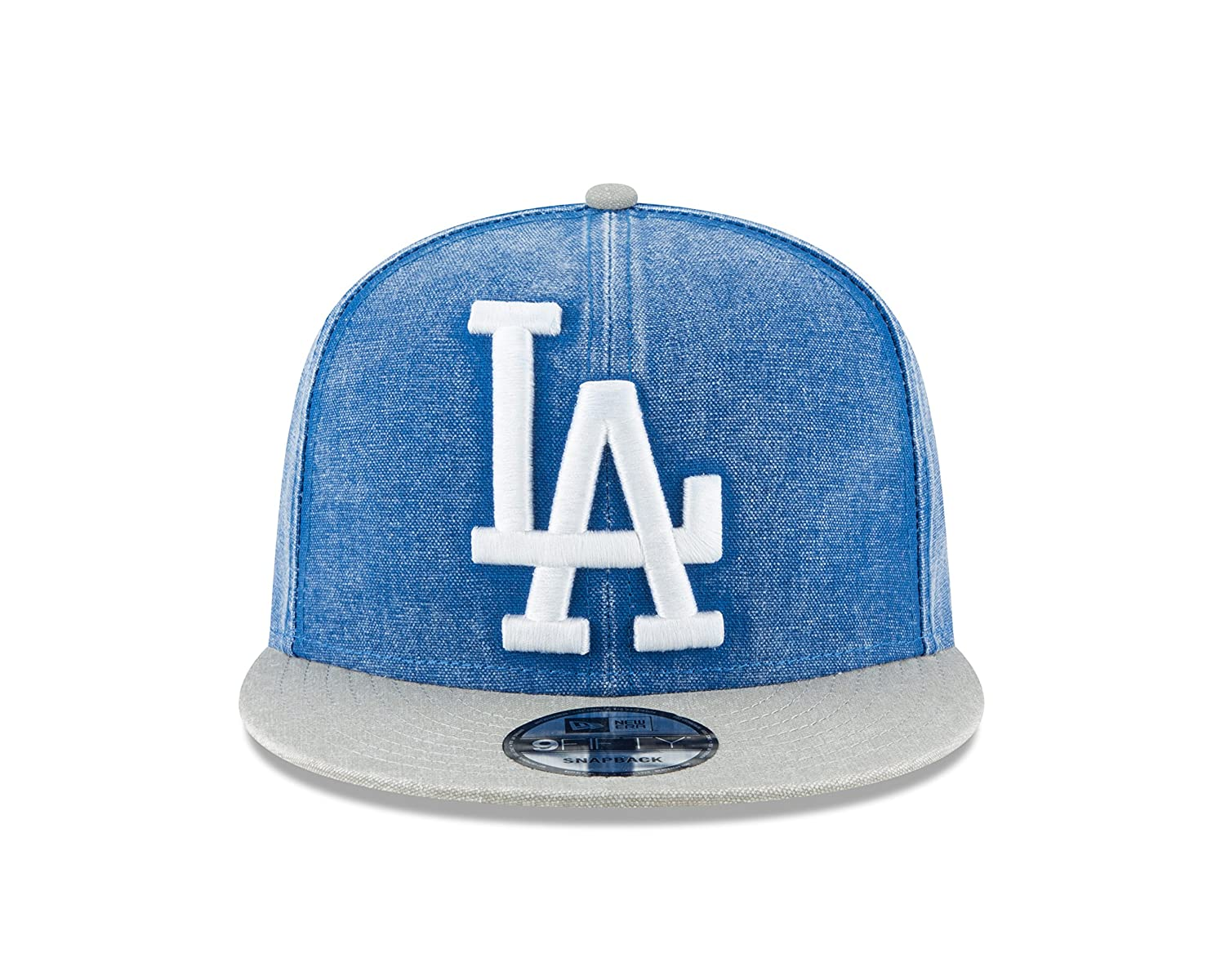 hot sale online 991ee 9c35f Amazon.com   New Era Los Angeles Dodgers Adjustable 9Fifty MLB Straight  Brim Baseball Cap 950   Clothing