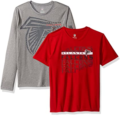 Outerstuff NFL Boys 4-7 quot Interface Performance T-Shirt Combo  Pack-Crimson 6a9801be6