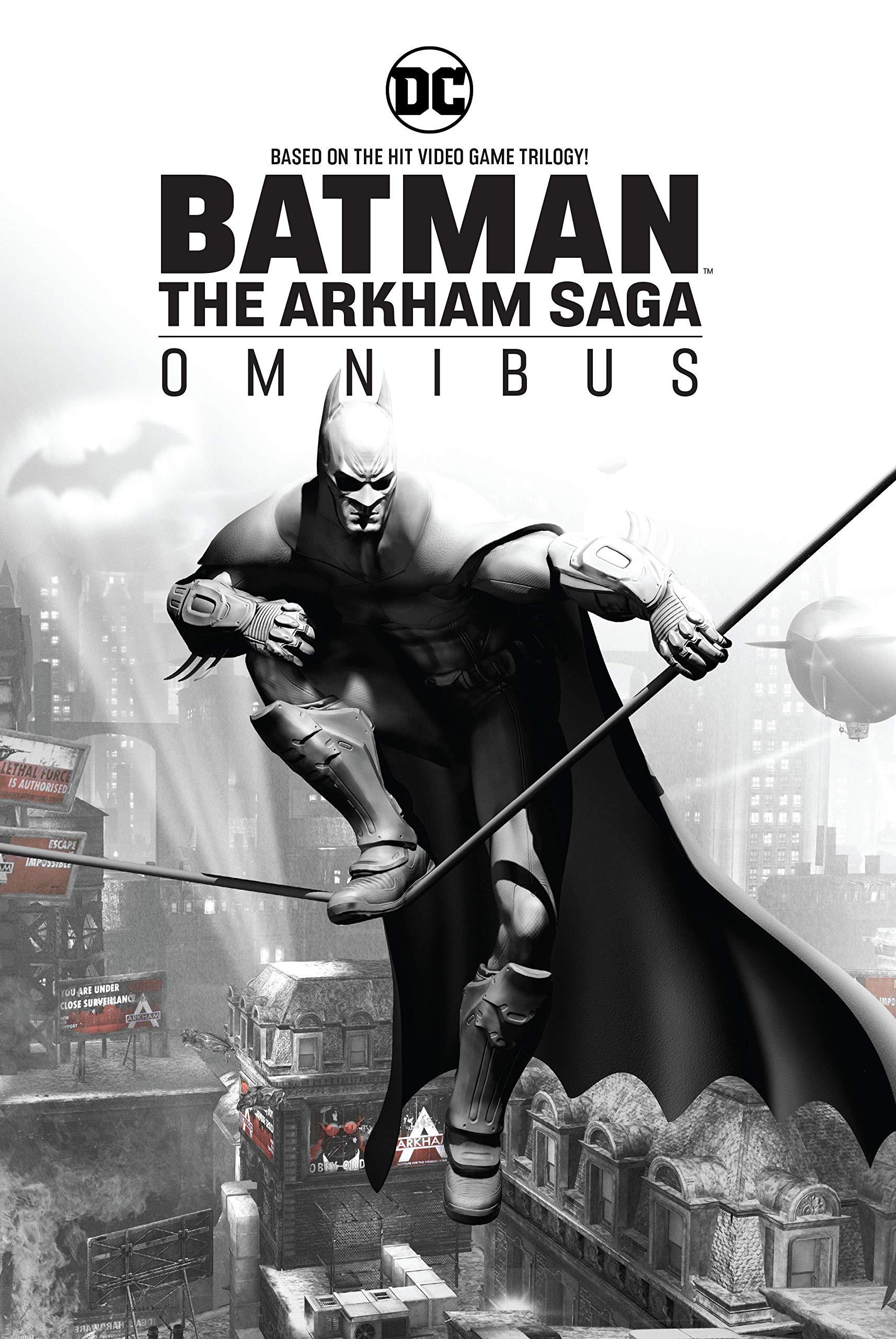 Batman The Arkham Saga Omnibus Paul Dini Peter J Tomasi Derek Fridolfs 9781401284329 Amazon Books
