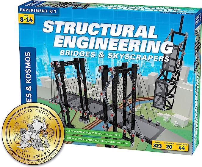 Bridges & Skyscrapers Structural Engineering Models