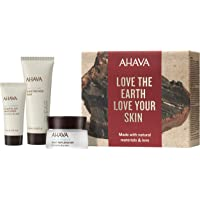 AHAVA Dead Sea Purifying Mud Mask Deep Hydration Daily and Night Cream, For Normal To Dry Skin, Value Set