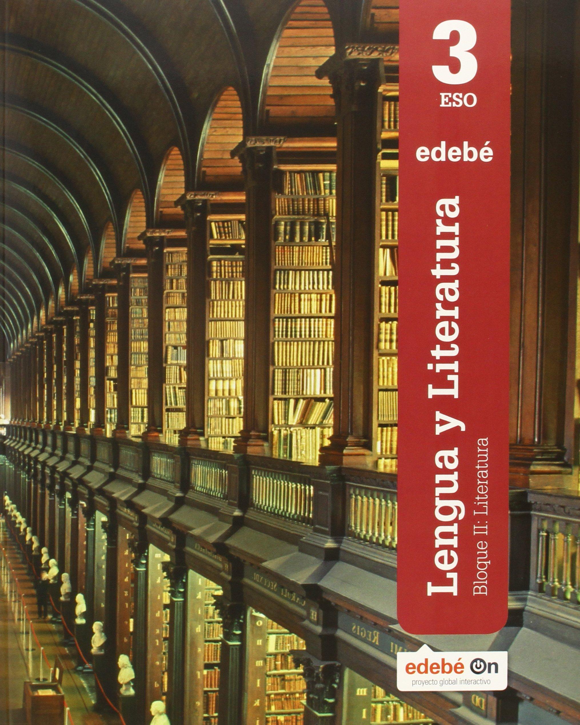 Lengua y Literatura 3 - 9788468320632: Amazon.es: Edebé, Obra Colectiva: Libros