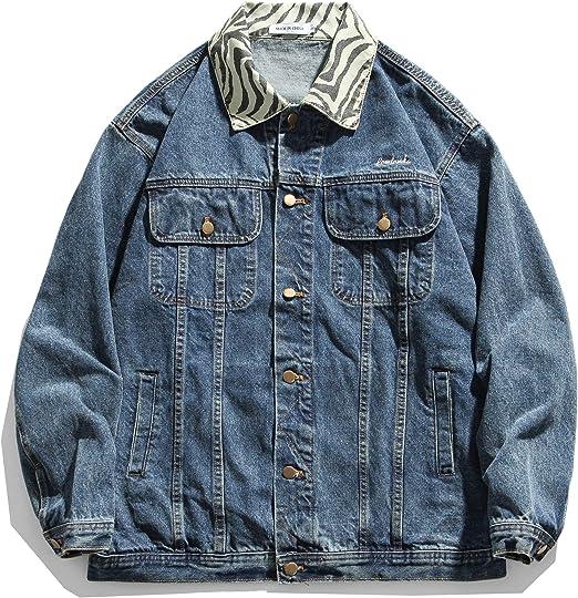 Artcons メンズ デニムジャケット Gジャン ジージャン ショート 長袖 ジャケット折り襟 カジュアル アウター ファッション