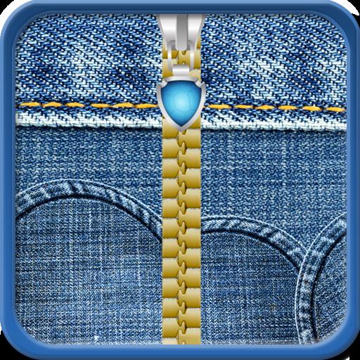 Pants Denim Energie (Jeans Zipper Lock Screen)