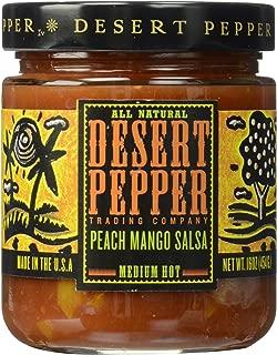 product image for Desert Pepper Peach Mango Salsa, Medium Hot, 16-Ounce