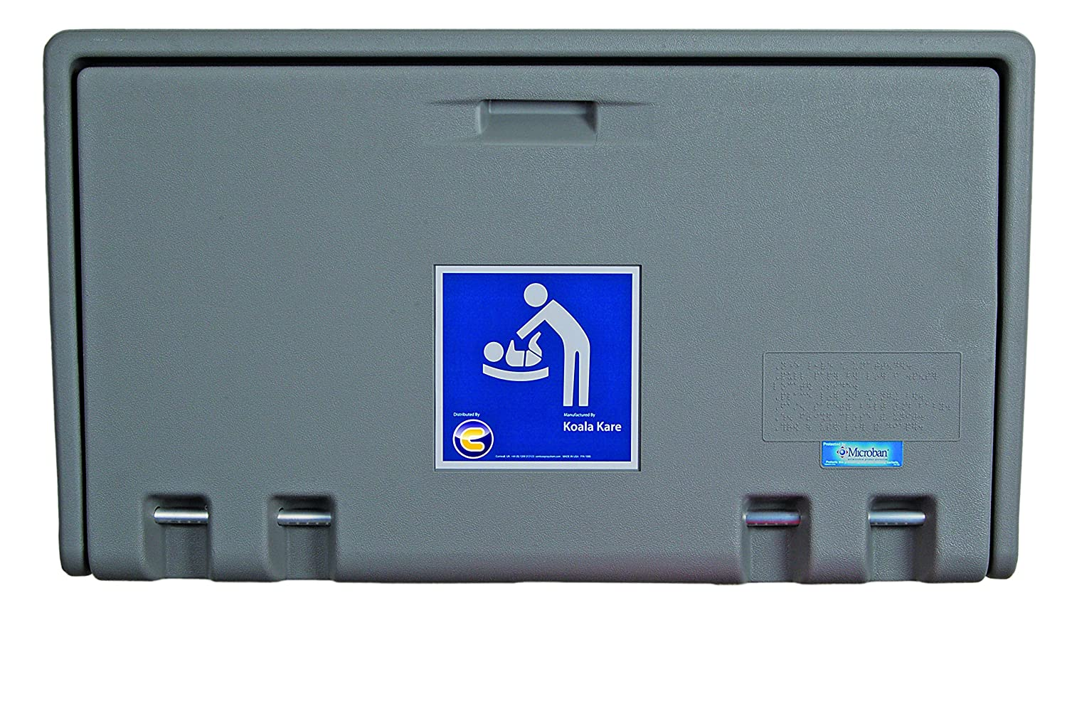 Baby Changing Table Horizontal Wall Mounted - Discounted Cleaning Supplies - Koala Kare DCS-9252-H