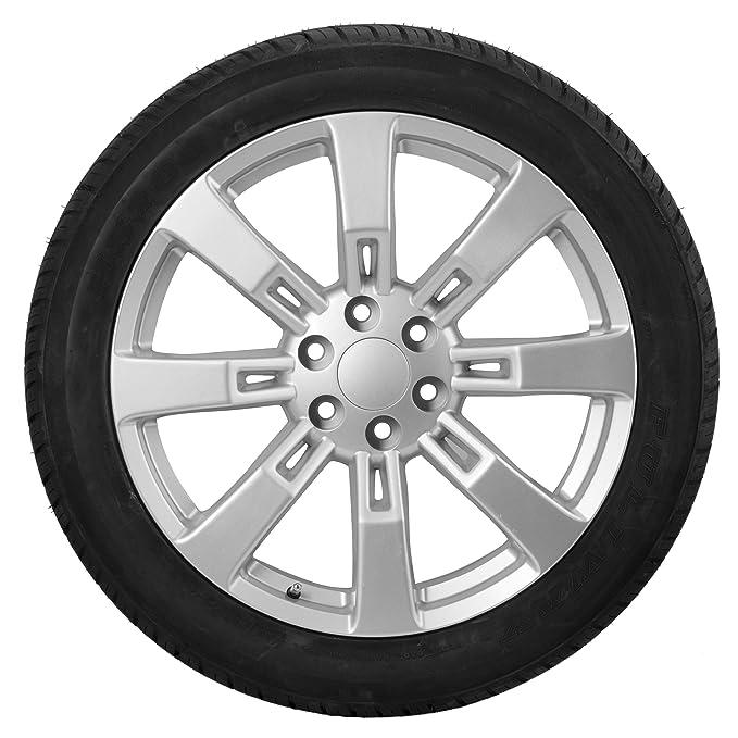Amazon Com 22 Inch Silver Rims Tires For Cadillac Escalade Hybrid