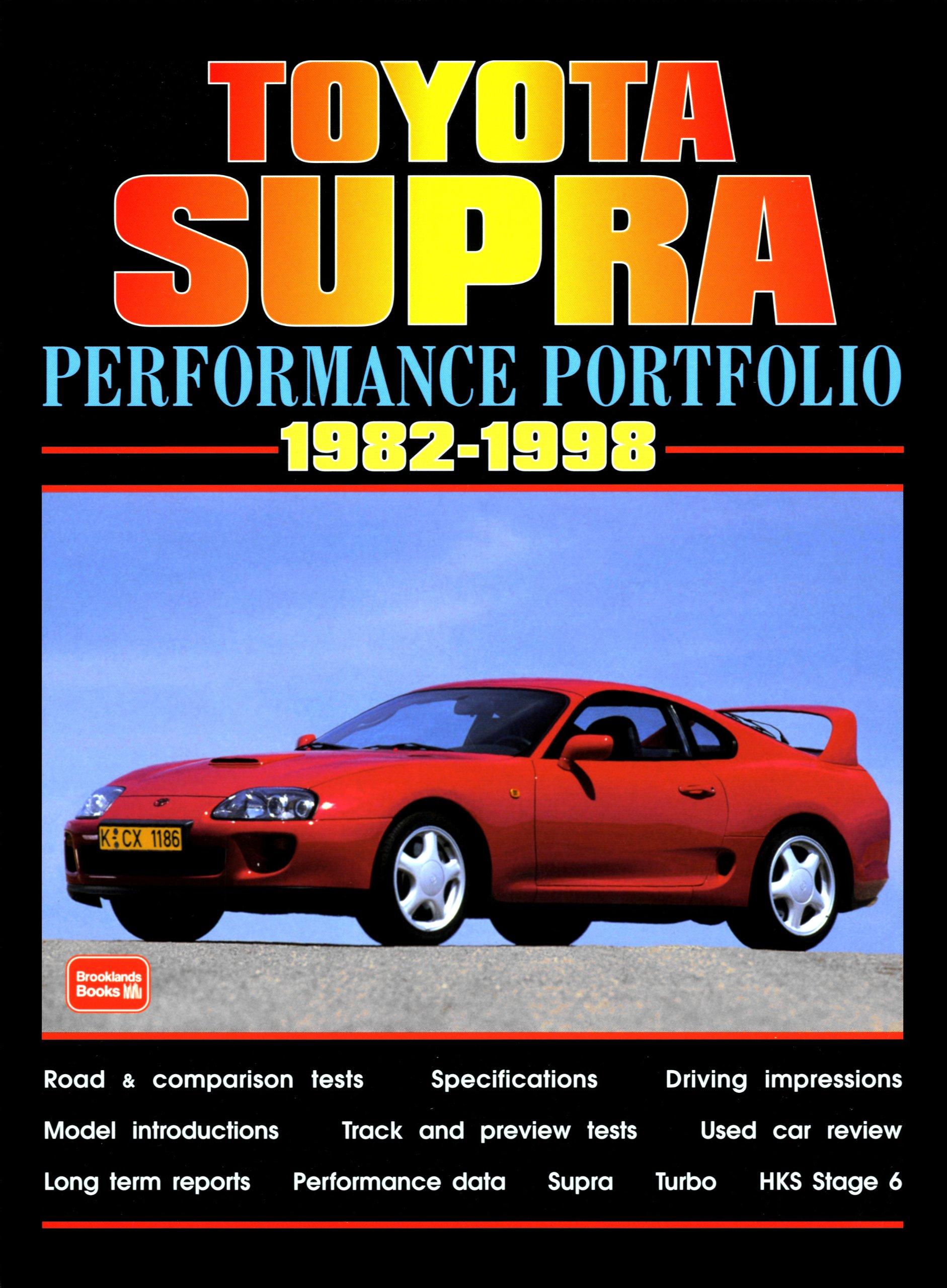 Toyota Supra Performance Portfolio 1982-1998 Performsnce Portfolio: Amazon.es: R. M. Clarke: Libros en idiomas extranjeros