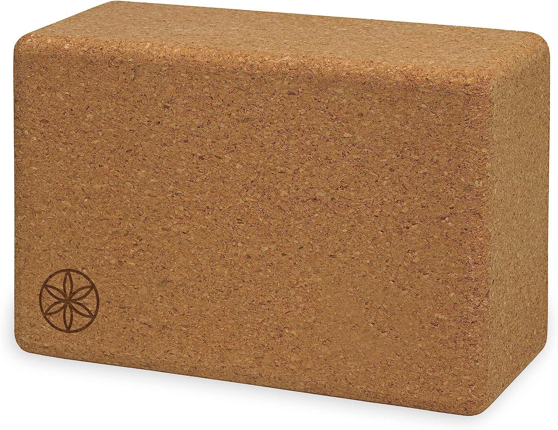 Yogamatters Large Cork Yoga Brick Block