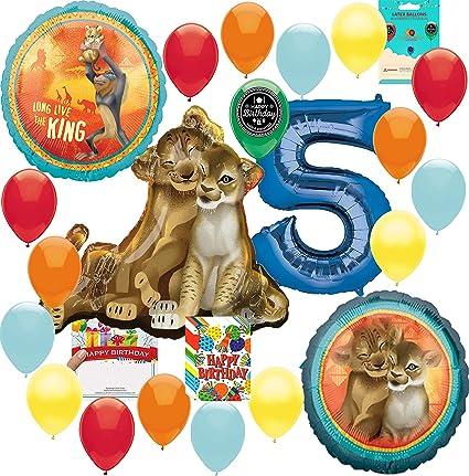 Amazon.com: Lion King Party Supplies - Juego de accesorios ...