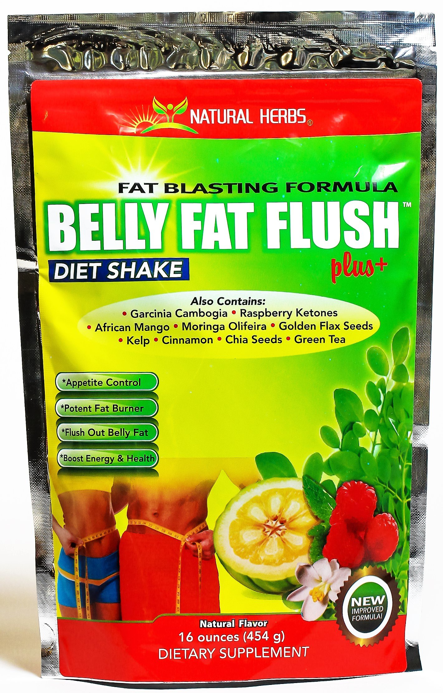 BELLY FAT FLUSH PLUS by NATURAL HERBS