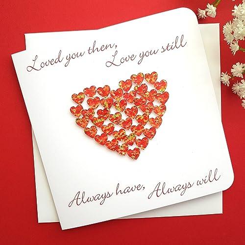 Handmade 3d anniversary card valentinesi love you for husband handmade 3d anniversary card valentinesi love you for husband wife m4hsunfo