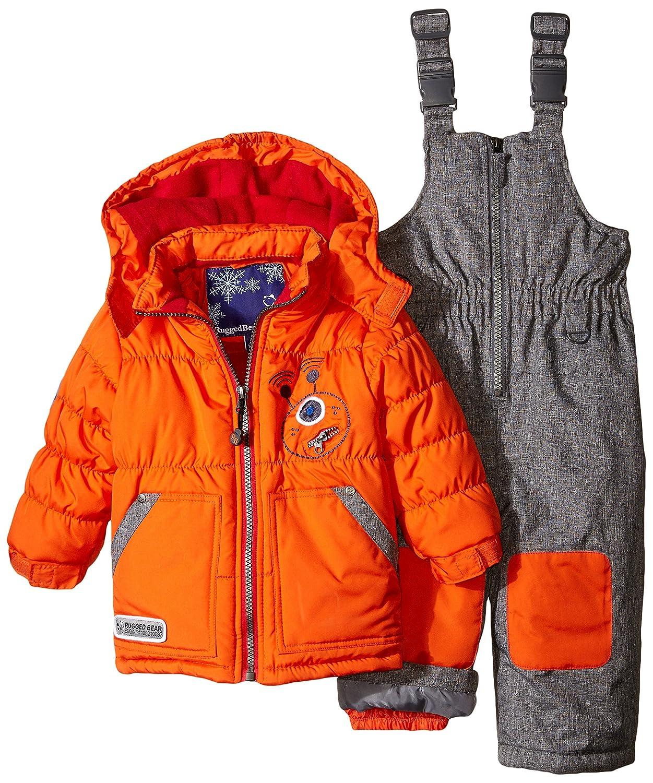 20be294e8 Amazon.com  Rugged Bear Baby Boys  Robot Snowsuit