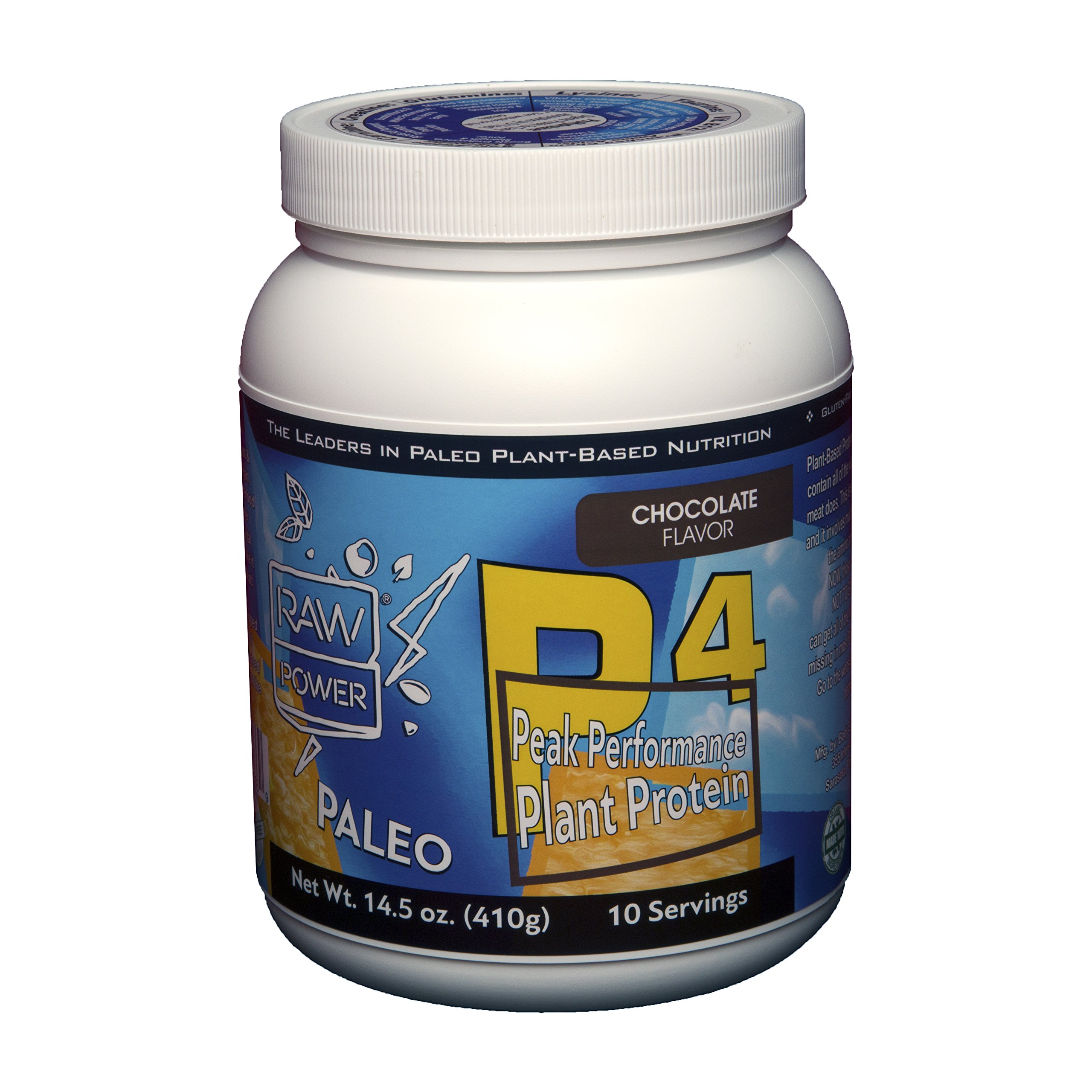 The Best Protein Powder on The Planet: More Balanced & Complete Than Meat (But Vegan) Paleo Organic Pumpkin Seed Protein + 11 Vital Nutrients Lacking In Most Diets - 10 Servings - Chocolate Flavor by Body Symphony