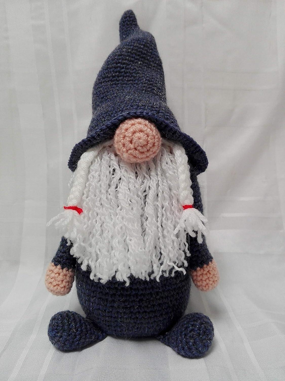 Addobbi amigurumi: cappello di Babbo Natale a uncinetto. | 1500x1125