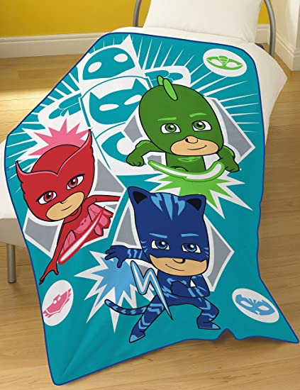 Image Unavailable. Image not available for. Color  PJ Masks Hero Fleece  Blanket c07397ef8