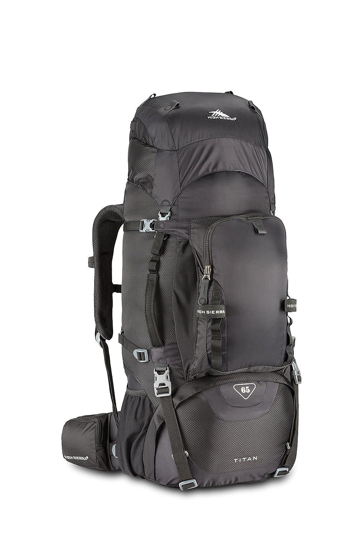High Sierra titan 65 Rahmen Pack, schwarz: Amazon.de: Sport & Freizeit