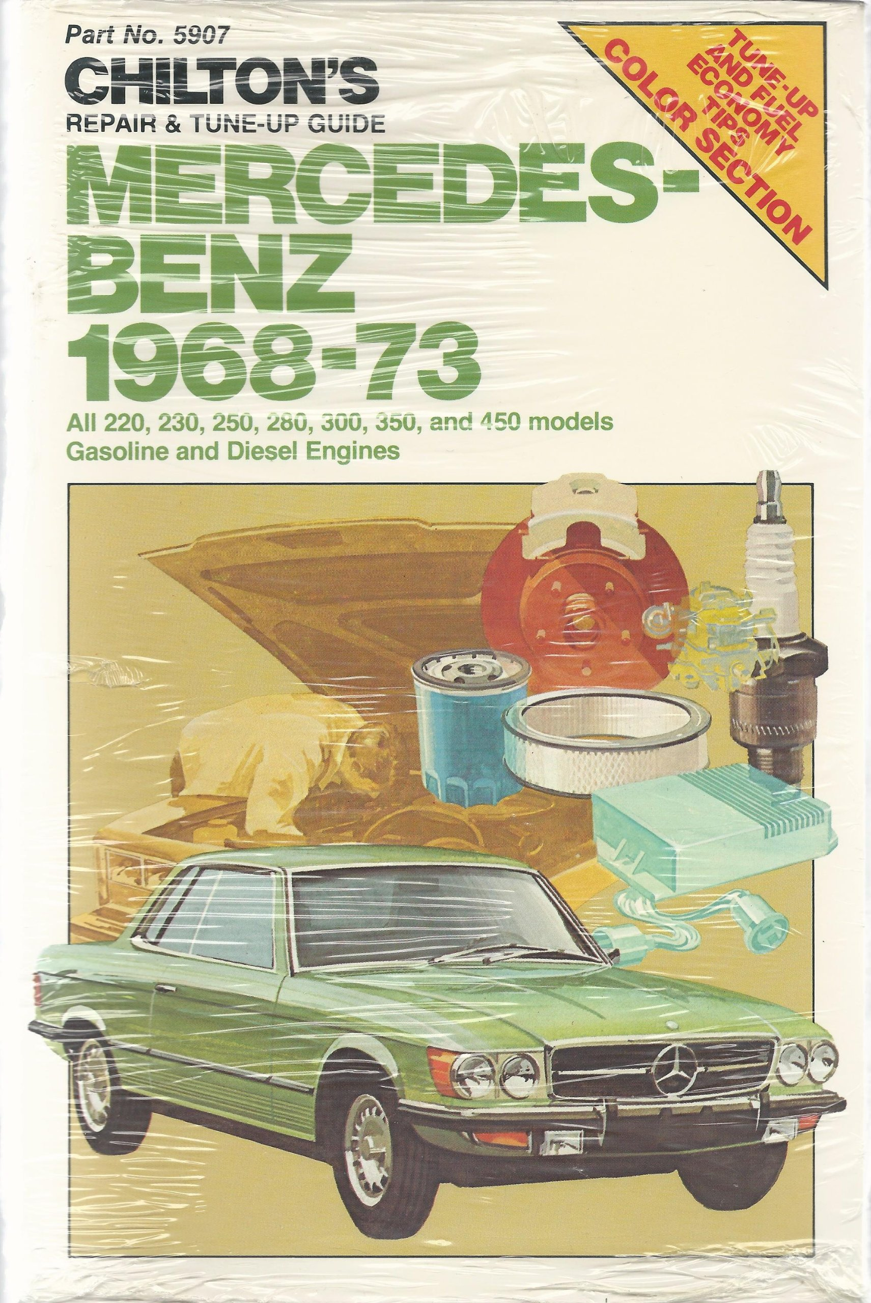 Chilton's Repair & Tune-Up Guide Mercedes-Benz 1968-73: All 220, 230