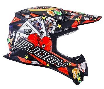 Suomy Casco Motocross MR Jump Jackpot, Multicolor (Jackpot Black), M