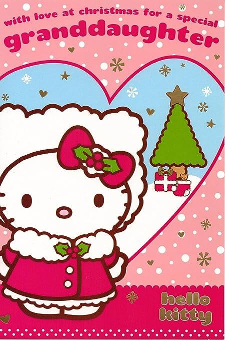Hello Kitty Cartes de Noël pour petite fille: Amazon.fr: Cuisine