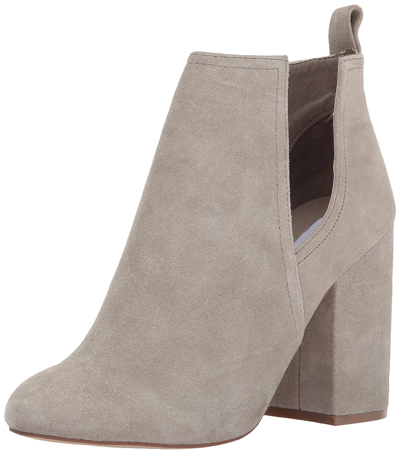 Steve Madden Women's Naomi Ankle Bootie B06X6JKW9X 5.5 B(M) US|Taupe Suede