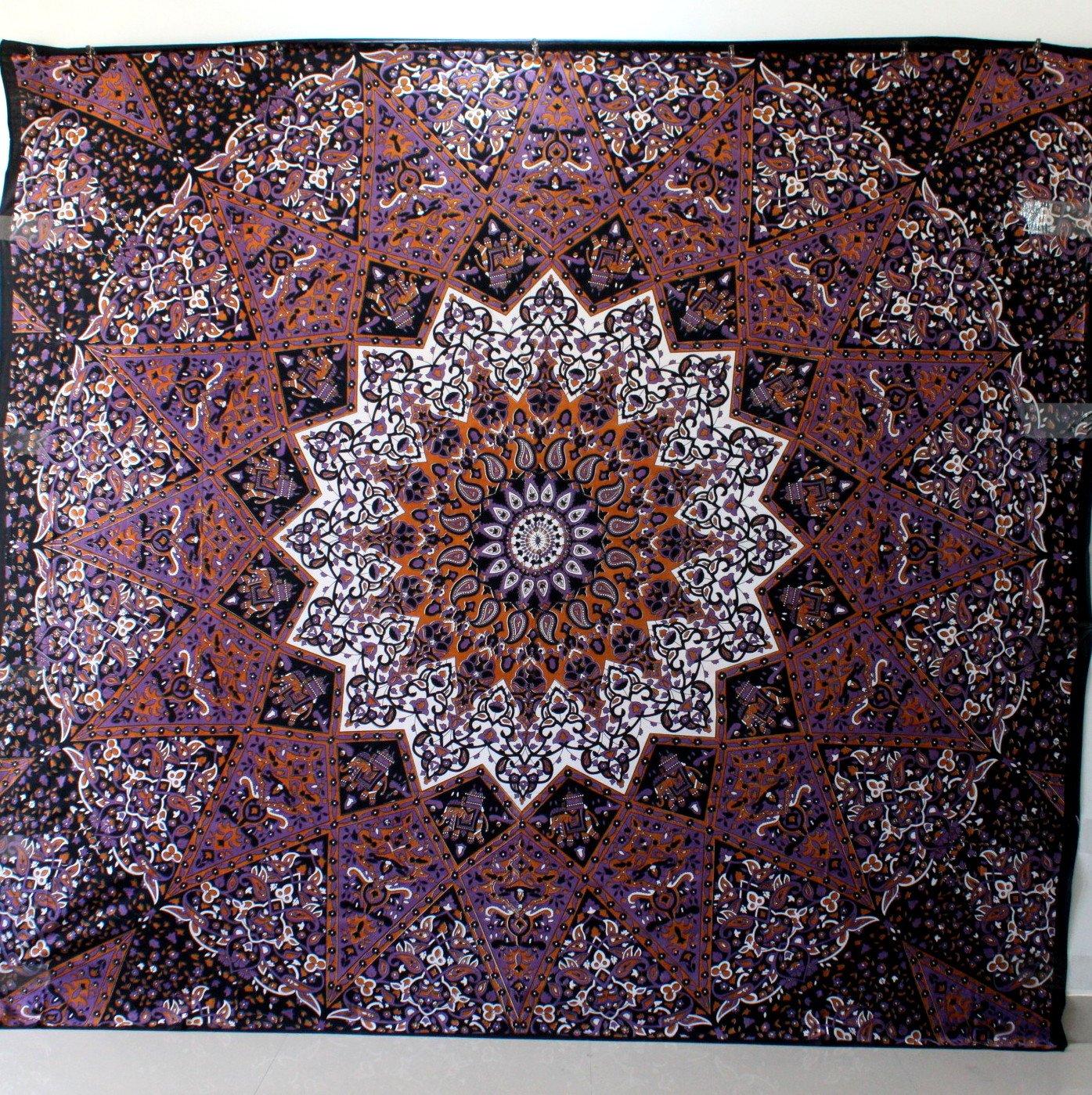 Handicrunch Hippie Mandala arazzo TWT7525