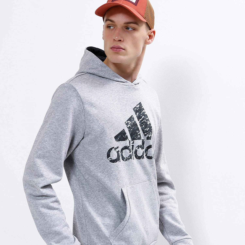 adidas Herren Hoodie mgreyh-black-gresix