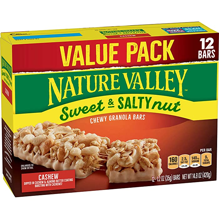 The Best Nature Valley Cashew Bars