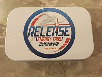 Release Energy Tabs - Energy release tablets- When you need Boost- Tropical Punch